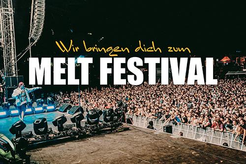 Melt Festival - Partybus