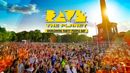 Rave the Planet - Partybus