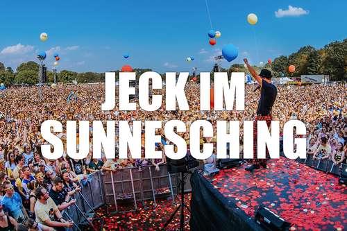 Jeck im Sunnesching Bus